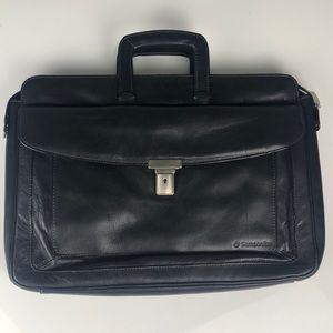Samsonite Vera Pelle (Leather) Lockable Briefcase
